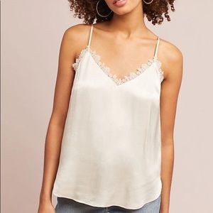 Laced V Neck Cami